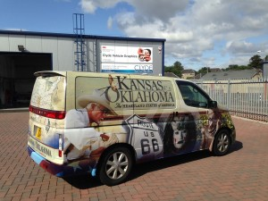 Kansas & Oklahoma advertising full colour digital image wrap
