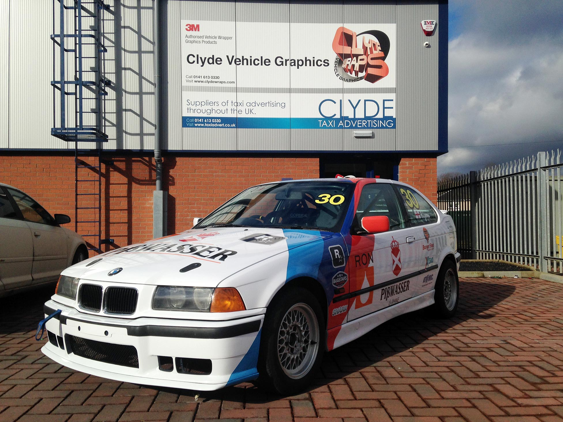 Grand Theft Auto Inspired 2014 SMRC BMW 3 Series Compact