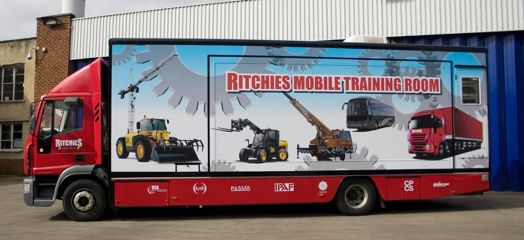 Ritchies Mobile Training Truck Exhibition Truck